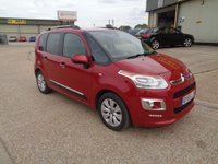2015 CITROEN C3 PICASSO 1.6 BLUEHDI EXCLUSIVE PICASSO 5d 98 BHP £SOLD