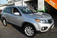 USED 2011 11 KIA SORENTO 2.2 CRDI KX-3 5d AUTO 195 BHP VIEW AND RESERVE ONLINE OR CALL 01527-853940 FOR MORE INFO.