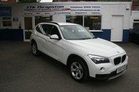 2013 BMW X1 2.0 XDRIVE18D SE 5d 141 BHP £10000.00