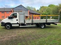 USED 2012 62 IVECO-FORD DAILY 3.0 70C17 TOOL BOX DROPSIDE SCAFFOLDING BODY  IDEAL RECOVERY SCAFFOLDING LWB DROPSIDE