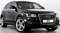 USED 2015 15 AUDI Q5 2.0 TDI S line Plus S Tronic Quattro (s/s) 5dr HDD Nav, DAB, Heated Leather +