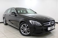 USED 2015 15 MERCEDES-BENZ C CLASS 2.1 C220 BLUETEC SPORT PREMIUM 5DR AUTOMATIC 170 BHP FULL MERCEDES SERVICE HISTORY + HEATED LEATHER SEATS + REVERSE CAMERA + SAT NAVIGATION + PANORAMIC ROOF + BLUETOOTH + CRUISE CONTROL + CLIMATE CONTROL + MULTI FUNCTION WHEEL + 17 INCH ALLOY WHEELS