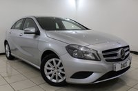 USED 2013 63 MERCEDES-BENZ A CLASS 1.6 A180 BLUEEFFICIENCY SE 5DR 122 BHP SERVICE HISTORY + HALF LEATHER SEATS + BLUETOOTH + MULTI FUNCTION WHEEL + AIR CONDITIONING + 16 INCH ALLOY WHEELS