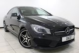 USED 2016 16 MERCEDES-BENZ CLA 1.6 CLA 180 AMG LINE 4DR 121 BHP Bluetooth 1 Owner Full Service History  SERVICE HISTORY + HALF LEATHER SEATS + SAT NAVIGATION + REVERSE CAMERA + BLUETOOTH + CRUISE CONTROL + CLIMATE CONTROL + MULTI FUNCTION WHEEL + 18 INCH ALLOY WHEELS
