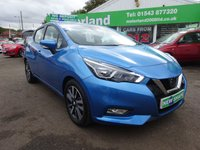USED 2017 67 NISSAN MICRA 0.9 IG-T ACENTA 5d 89 BHP CALL 01543 877320... NISSAN WARRANTY... LOW MILEAGE.. JUST ARRIVED