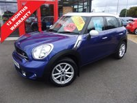 2015 MINI COUNTRYMAN 2.0 COOPER SD 5d 141 BHP £11995.00