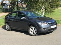 2010 FORD FOCUS 1.8 ZETEC 125 5d HATCHBACK £1495.00