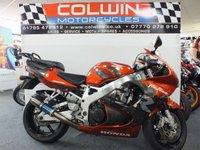 1998 HONDA CBR900RR FIREBLADE 918cc £2495.00