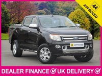 USED 2014 14 FORD RANGER 2.2 TDCI LIMITED DOUBLE CAB MOUNTAIN TOP HARDBACK COVER HEATED LEATHER MOUNTAIN TOP CANOPY BLUETOOTH