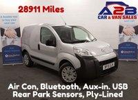 2015 CITROEN NEMO 1.3 HDI ENTERPRISE in Silver,  Low Mileage, 28911 Miles, Air Con, Bluetooth, Folding Passenger Seat, Reat Parking Sensors. £5980.00