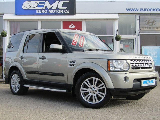 2012 12 LAND ROVER DISCOVERY 3.0 4 SDV6 XS 5d AUTO 255 BHP SAT NAV FULL LEATHER
