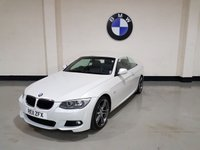 USED 2011 11 BMW 3 SERIES 2.0 320D M SPORT 2d 181 BHP Pearl White/Bmw History/19In Alloys/bluetooth/Sensors