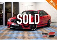 USED 2013 13 MERCEDES-BENZ C CLASS 6.2 C63 AMG 4d AUTO 457 BHP