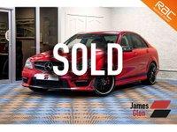 2013 MERCEDES-BENZ C CLASS 6.2 C63 AMG 4d AUTO 457 BHP £25985.00