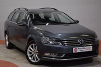 2014 VOLKSWAGEN PASSAT 1.6 EXECUTIVE TDI BLUEMOTION TECHNOLOGY ESTATE £10990.00