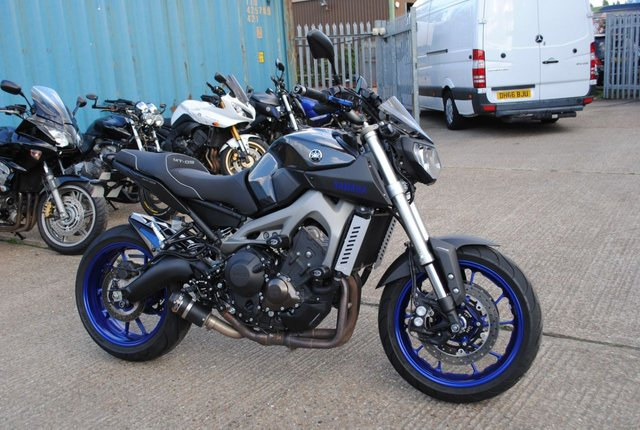 2014 D YAMAHA MT 09 ABS