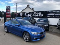 USED 2014 BMW 4 SERIES 3.0 435D XDRIVE M SPORT 2d AUTO 309 BHP