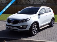 USED 2012 12 KIA SPORTAGE 1.7 CRDI 3 5d 114 BHP Loads of Spec!! Full Glass Roof in the Best Colour!!