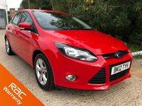 2012 FORD FOCUS 1.6 ZETEC 5d AUTO 124 BHP £6000.00