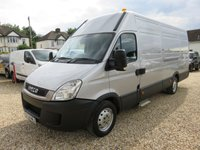 2010 IVECO-FORD DAILY 2.3 35S13V 126 BHP XLWB FULLY AIR CONDITIONED PET TRANSPORTER £12995.00