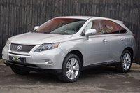 USED 2010 LEXUS RX 3.5 450H SE-I 5d AUTO 249 BHP Full Lexus Service History