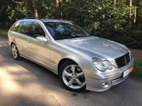 USED 2006 56 MERCEDES-BENZ C CLASS 1.8 C200 KOMPRESSOR AVANTGARDE SE 5d 163 BHP FULL SERVICE HISTORY - HEATED BLACK LEATHER - COMMAND SAT NAV - CRUISE CONTROL - AIR CONDITIONING - FRONT & REAR PDC