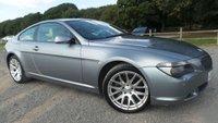 2006 BMW 6 SERIES 3.0 630I SPORT 2d AUTO 255 BHP £6750.00