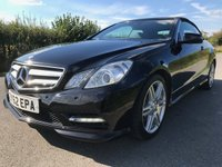 2012 MERCEDES-BENZ E CLASS 1.8 E200 CGI BLUEEFFICIENCY S/S SPORT 2d AUTO 184 BHP £12995.00