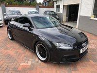 2011 AUDI TT 2.0 TDI QUATTRO S LINE BLACK EDITION 2d 168 BHP £12995.00