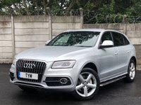 USED 2012 62 AUDI Q5 3.0 TDI QUATTRO S LINE 5d 242 BHP SIDE STEP/SAT NAV/AUTO/NAPPA LEATHER