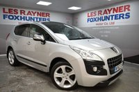 USED 2012 62 PEUGEOT 3008 1.6 ALLURE E-HDI FAP 5d AUTO 112 BHP Bluetooth, Reverse sensors, cruise control, panoramic glass roof