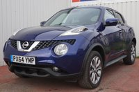 USED 2014 64 NISSAN JUKE 1.5 TEKNA DCI 5d 110 BHP £20 PER YEAR ROAD TAX