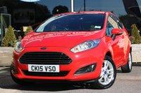 2015 FORD FIESTA 1.2 ZETEC 3d 81 BHP £7062.00