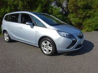 USED 2016 16 VAUXHALL ZAFIRA TOURER 1.4 EXCLUSIV 5d 138 BHP
