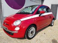 2009 FIAT 500 1.2 LOUNGE 3d 69 BHP £3995.00