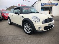 USED 2012 62 MINI HATCH COOPER 1.6 COOPER D 3d 112 BHP CHILI, Bluetooth, Half Leather, £2800 optional Extras!