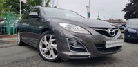 USED 2011 11 MAZDA MAZDA6 2.2 D SPORT 5d 180BHP TOURER HISTORY+18ALLOYS+HALF LEATHER+
