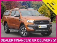 USED 2017 17 FORD RANGER 3.2 TDCI WILDTRAK AUTOMATIC DOUBLE CAB HARDTOP CANOPY SAT NAV AIR CON CRUISE CANOPY REVERSE CAMERA