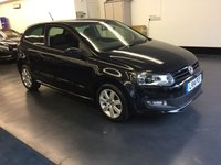 2014 VOLKSWAGEN POLO 1.4 MATCH EDITION 3d 83 BHP £7150.00
