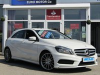 2015 MERCEDES-BENZ A CLASS 1.5 A180 CDI BLUEEFFICIENCY AMG SPORT 5d 109 BHP £14795.00