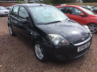 USED 2006 56 FORD FIESTA 1.6 GHIA 16V 5d 100 BHP AVAILABLE AT OUR HADDINGTON BRANCH