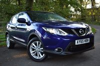 USED 2015 65 NISSAN QASHQAI 1.2 ACENTA DIG-T 5d 113 BHP 24,000 MILES, FULL NISSAN SERVICE HISTORY, BLUETOOTH CONNECTIVITY, CRUISE CONTROL, DUAL ZONE CLIMATE CONTROL + MUCH MORE!