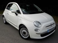 USED 2011 11 FIAT 500 0.9 LOUNGE 3d 85 BHP *ZERO ROAD TAX*