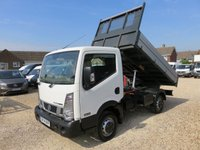 2014 NISSAN NT400 CABSTAR 2.5 DCI 34.12 TIPPER 120 BHP 10529 MILES ONLY £15950.00