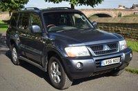 2006 MITSUBISHI SHOGUN 3.2 ELEGANCE LWB DI-D 5d AUTO 159 BHP £5899.00