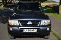 USED 2006 56 MITSUBISHI SHOGUN 3.2 ELEGANCE LWB DI-D 5d AUTO 159 BHP WELL MAINTAINED, SATELLITE NAVIGATION, HEATED LEATHER, CRUISE CONTROL, 7 SEATS