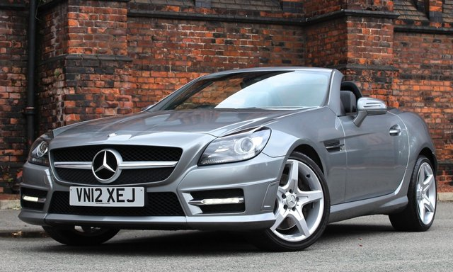2012 12 MERCEDES-BENZ SLK 2.1 SLK250 CDI BLUEEFFICIENCY AMG SPORT 2d AUTO 204 BHP
