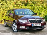 2010 SKODA SUPERB 2.0 SE TDI CR 5d 140 BHP £7500.00