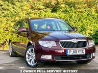 USED 2010 10 SKODA SUPERB 2.0 SE TDI CR 5d 140 BHP