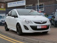 2012 VAUXHALL CORSA 1.2 LIMITED EDITION 3d  £SOLD